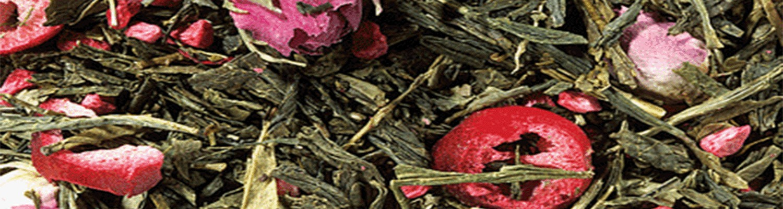 Té verde desteinado de origen o aromatizado