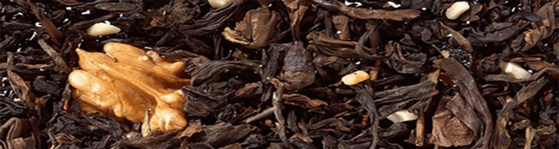té rojo pu erh aromatizado con flores, frutas y plantas