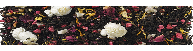 té negro aromatizado y desteinado.